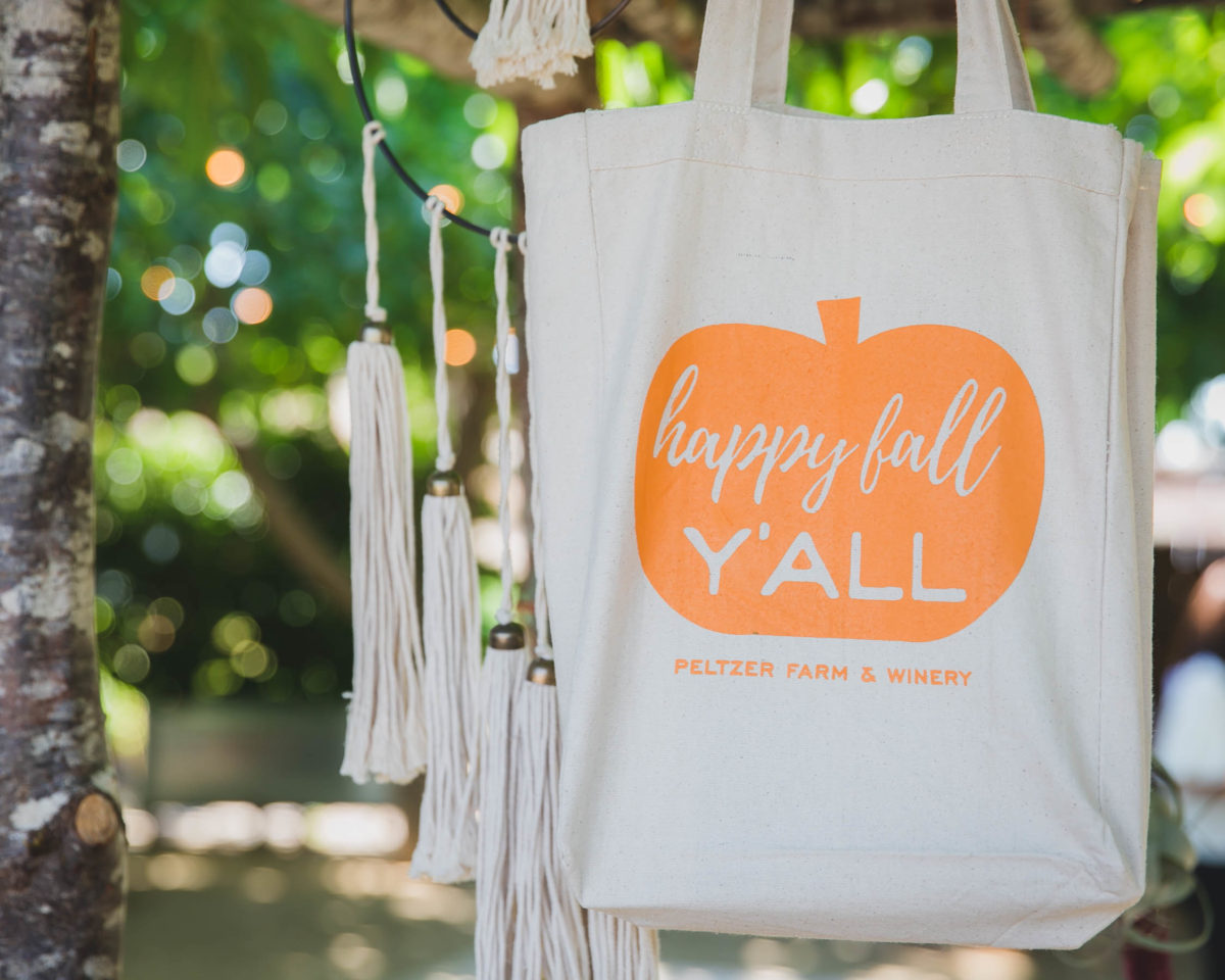 Charity for Charity: Fall Y'all Totes